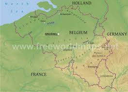 map of germany showing rivers map of belgium belgium rivers map showing the major rivers new zone