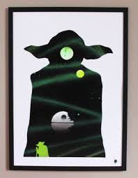 Cadre 70x50 by Yoda 70x50 Papier Glace U2013 Tommy Delalune