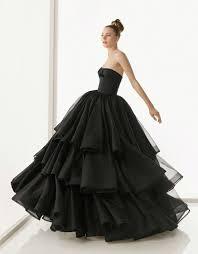 25 gorgeous black wedding dresses deer pearl flowers