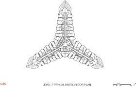 Burj Al Arab Floor Plans Buttressed Core Structural System For Burj Khalifa Openbuildings