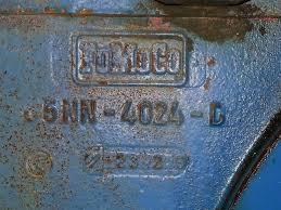 ford 2000 clutch job