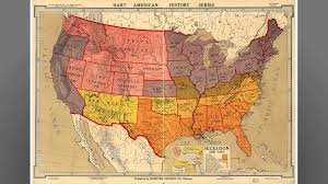 Map Of United States During Civil War by Nebraskastudies Org