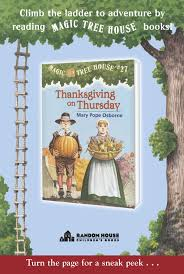 thanksgiving on thursday magic tree house book review and