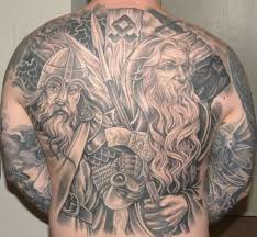 full back viking tattoos for men tattoobite com