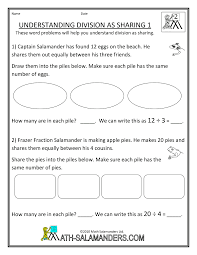 Division Worksheets Grade 4 We Are The Light Brigade 36 Math Monday Second Grade Division