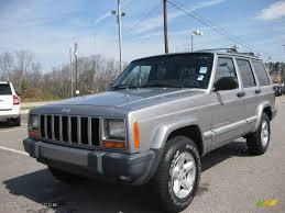 jeep 2001 2001 silverstone metallic jeep cherokee sport 5490992 photo 14