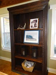 Solid Wood Bookcase Solid Wood Bookcase Cabinet Thesecretconsul Com