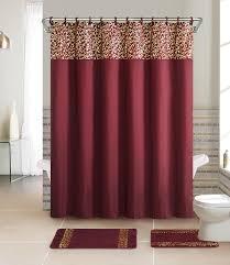 28 bath sets with shower curtains contemporary bath shower bath sets with shower curtains essential home 15 piece bath set metalic scroll burgundy