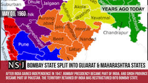 Bombay India Map by Pluto Named By 11 Year Old Bombay Split Into Gujarat And