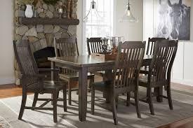 farmhouse hardwood extension shaker table 96