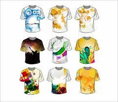 t shirt design template t shirt design templates 38 sets free editable vectors