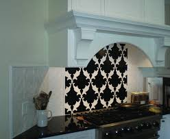 backsplash for black and white kitchen tumbled marble subway tile kitchen traditional with backsplash
