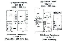 unit floor plans 2 bedroom units shawnee ok