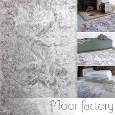 teppich 300x300 hochflor shaggy teppich prestige silber grau 140x200 cm