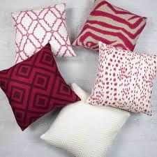 Pink Decorative Pillows Pink Throw Pillows Pink Accent Pillows Pink Pillow Covers