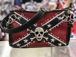 Cool Rebel Flag Pics Concealed Carry Rebel Flag Skull And Crossbones Shoulder Bag W