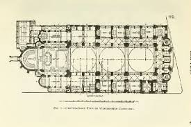 Cathedral Floor Plan Idle Speculations Westminster Cathedral And Its Architect