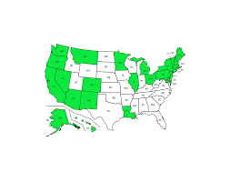 Medical Marijuana Legal States Map what states have legalized marijuana u2013 potnetwork com
