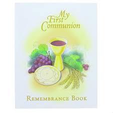 my communion my communion remembrance book the catholic company