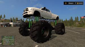 monster trucks racing in mud dodge mud truck lifted v1 0 u2014 the best farming simulator 2017 mods