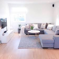 Light Grey Sectional Couch Living Room Simple Decorating Ideas Endearing Inspiration Grey