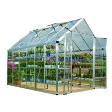 metal greenhouses u0026 greenhouse kits garden center the home depot