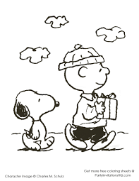 thanksgiving coloring pages charlie brown coloring page