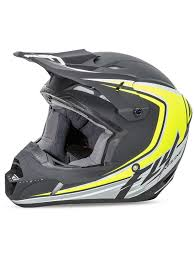 fly racing motocross fly racing matte black hi viz 2016 kinetic fullspeed kids mx