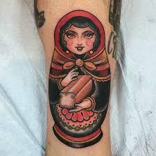 matryoshka doll tattoo tattoo geek ideas for best tattoos