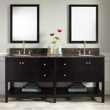 Modern Home Furniture Everett Black Modern Vanity Signature Hardware