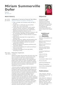 General Contractor Resume Sample by Independent Contractor Resume Samples Visualcv Resume Samples