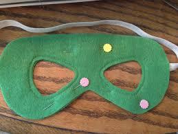 superhero masks sew like my mom