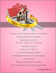 open house invitation open house invitation wording sles wordings and messages