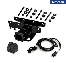 amazon com tyger towing combo 2inch receiver hitch u0026 wiring