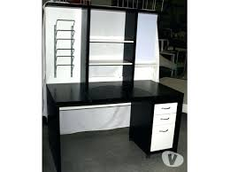 bureau noir et blanc ikea meetharry co