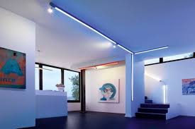 Wohnzimmer Lampen Ideen Flexible Schienensysteme Für Individuelle Beleuchtung