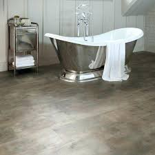 Bathroom Floor Coverings Ideas Bathroom Floor Covering Vinyl On Trend Planks Of Gray Wood Look
