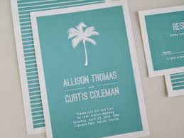 palm tree wedding invitations invited palm tree destination wedding invitation set