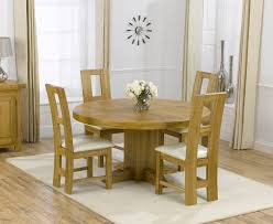 solid oak table with 6 chairs round oak dining table for 6 coryc me