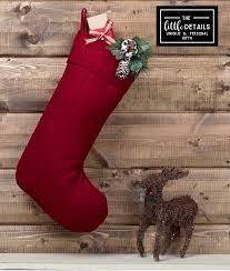 classic personalized christmas stocking u2013 details