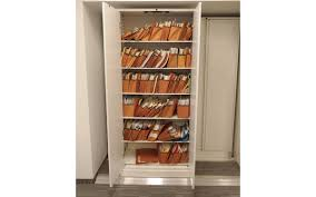 Lateral File With Storage Cabinet by Filing With Sliding Storage System Spacesaver Corporation