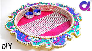 diy ideas how to make handmade pooja thali at home best out of