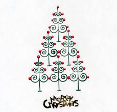 home design best photos of christmas tree designs drawing hand