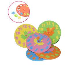 popular toy foam clock buy cheap toy foam clock lots from china