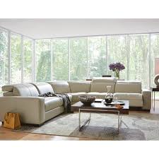 Art Van Living Room Furniture by Cool Clean Contemporary And It Reclines The Gianna Reclining