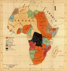 Map Of The Africa by A European Missionary U0027s Map Of Africa Circa 1908 1800x1899