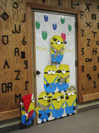 a minion christmas christmas door decorations pinterest