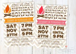 bonfire party invitations theruntime com