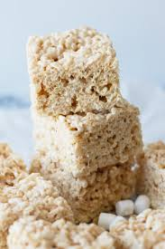 chewy rice krispie treats countryside cravings