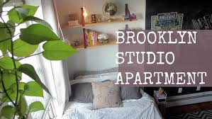 Apartments For Rent One Bedroom by Studio Apartment Tour Brooklyn Ny Youtube